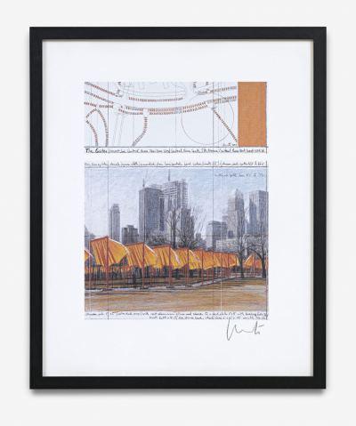 Christo & Jeanne Claude - The Gates - 19??
