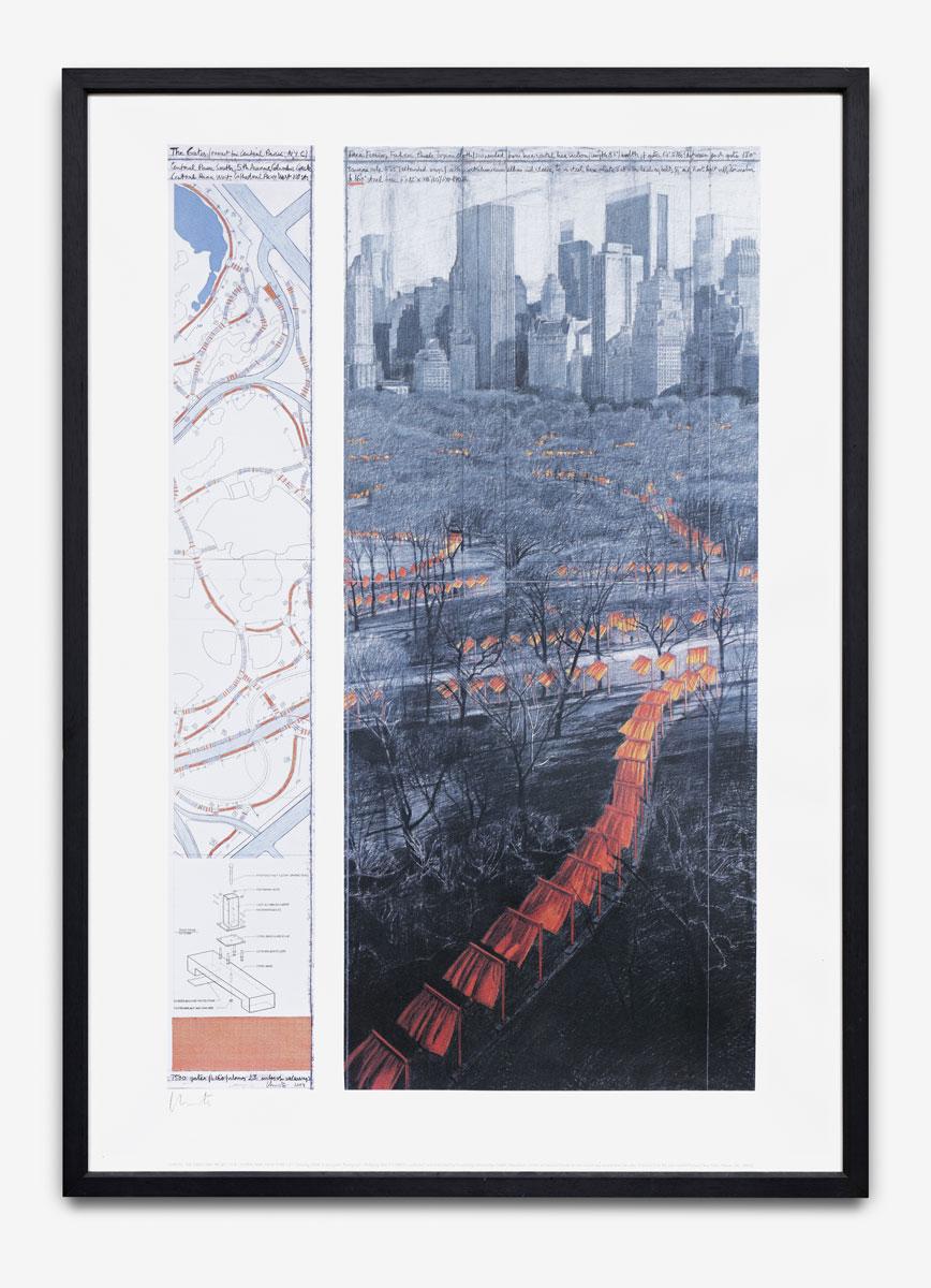 Christo & Jeanne-Claude - The Gates - 200?