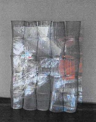 Hamann, Volker W. - Muellbunt - Temporäre Lichtskulptur - 2008
