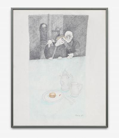 Harm, Brigitte - o.T. (altes Ehepaar) - 1981