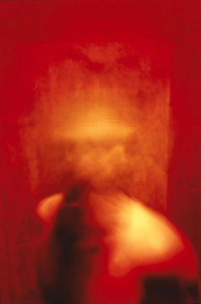 Kerscher, Joseph - Engramme, Kopf und roter Raum - 2004