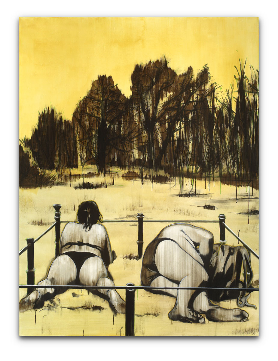 Lipski, Roman - o.T. (eingezäuntes Paar) - 2006