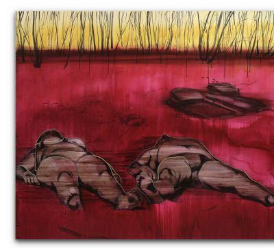 Lipski, Roman - o.T. (liegends Paar) - 2006