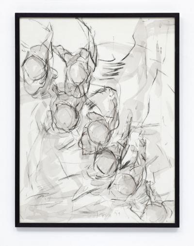 Margull, Angelika - o.T. (Studie zu Symorphie) - 1991