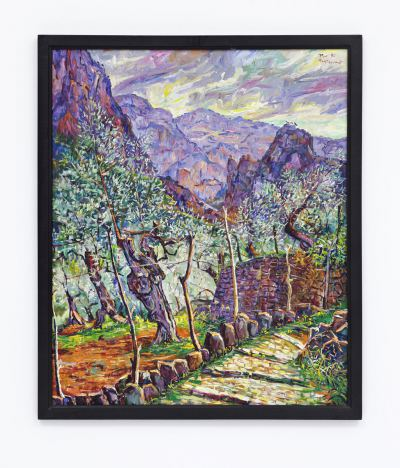 Montserrat, P. - o.T. (Landschaft um Soller) - 1990