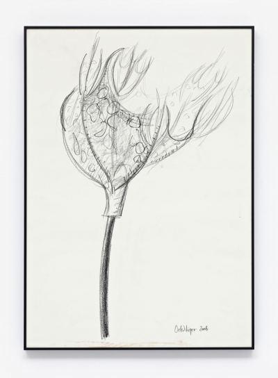 """Oelschläger, Gabriele - o.T. (Skizzen zur Skulpturarbeit - """"5 Kelche"""") - 2006"""