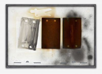 Pfarr, Paul - o.T. (aus der Reihe Materialbilder) - 1996