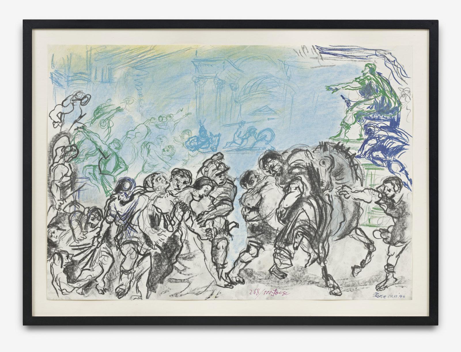 Roese, Eckhart - o.T. (Tanzszene) - 1996