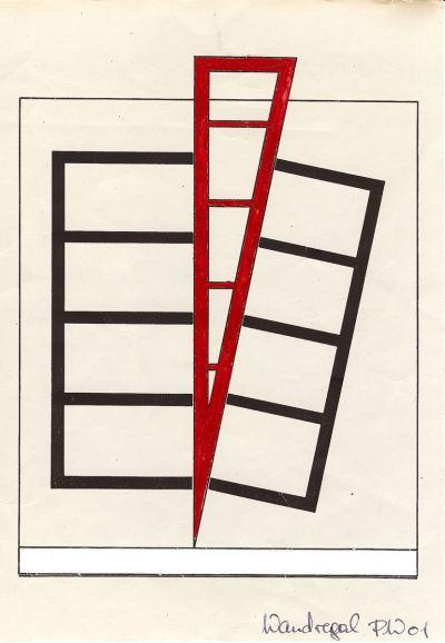 Werner, Peter - Der rote Keil - PW 01 - 1989