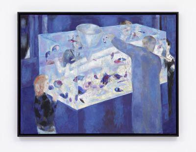 Zumbrunnen, Jürgen - Aquarium blau - 2005