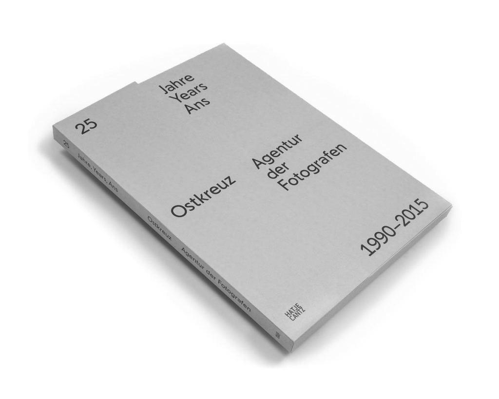 Ostkreuz - Katalog 25 Jahre Ostkreuz signiert 8/25 - 2015