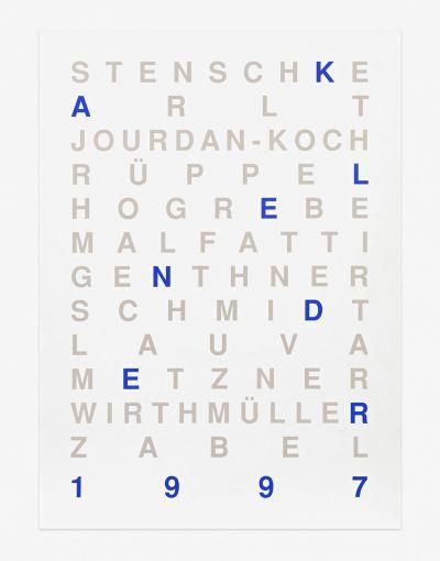 BBK-Berlin - Kunstkalender 1997
